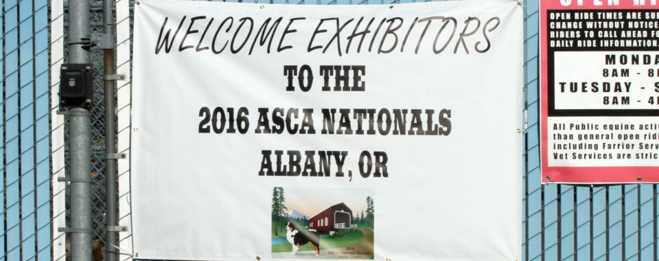 2016 ASCA National Specialty, 2016